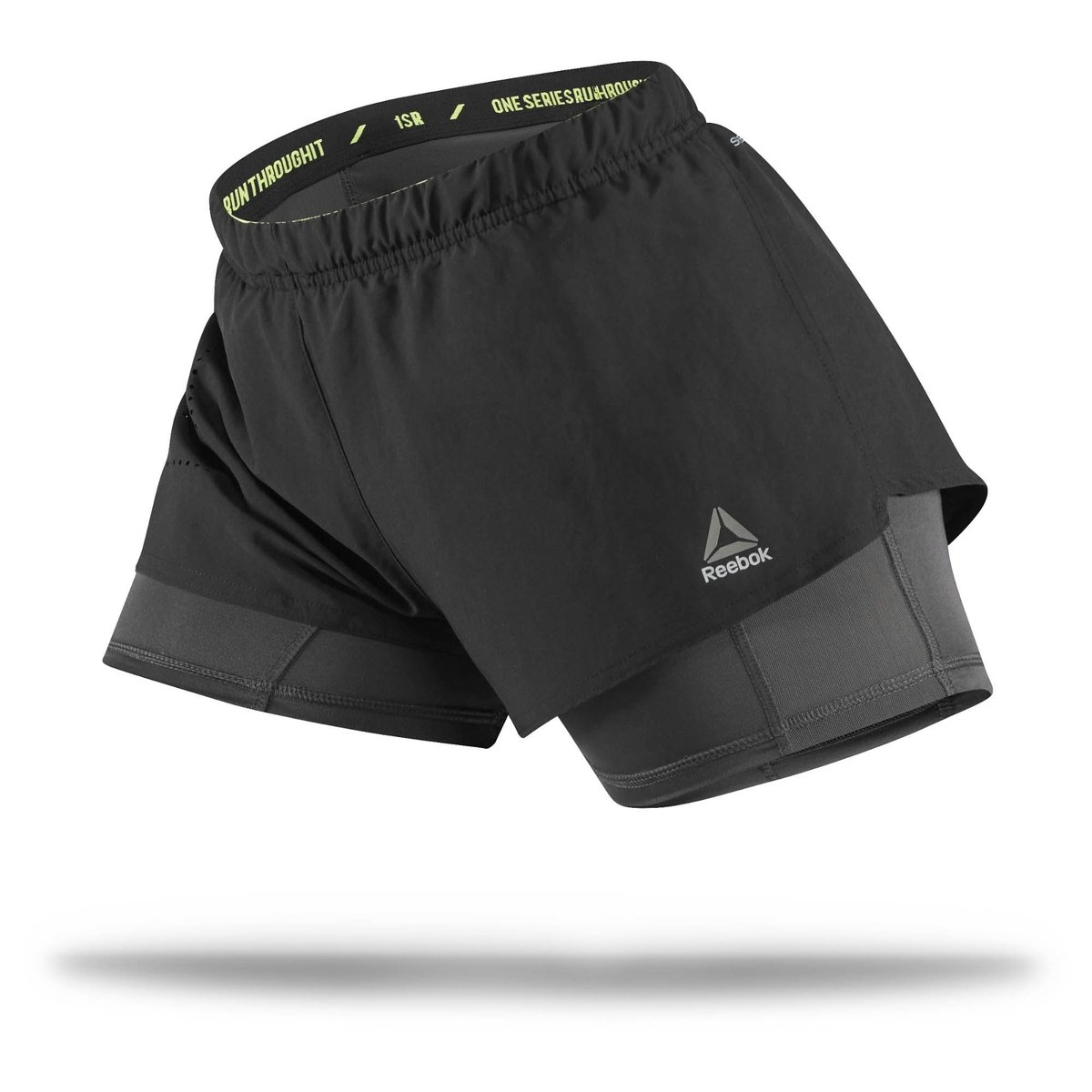 Reebok 2In1 Short Series Preto One Short Reebok gqFwxUXE