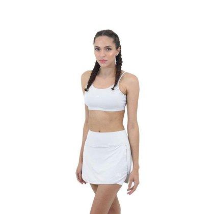 Short Saia Essential FIT ROOM fitness Academia Treino Corrida Caminhada Esporte Treinamento