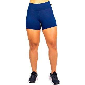 Short Suplex Academia Fitness Feminino Cintura Alta - Wolfox Pronta Entrega