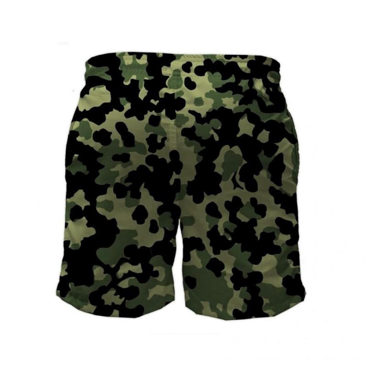 adidas camuflado verde e preto
