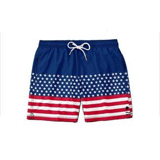 Short  Tectel Estados Unidos Balboa Nadador Verão Sir.w