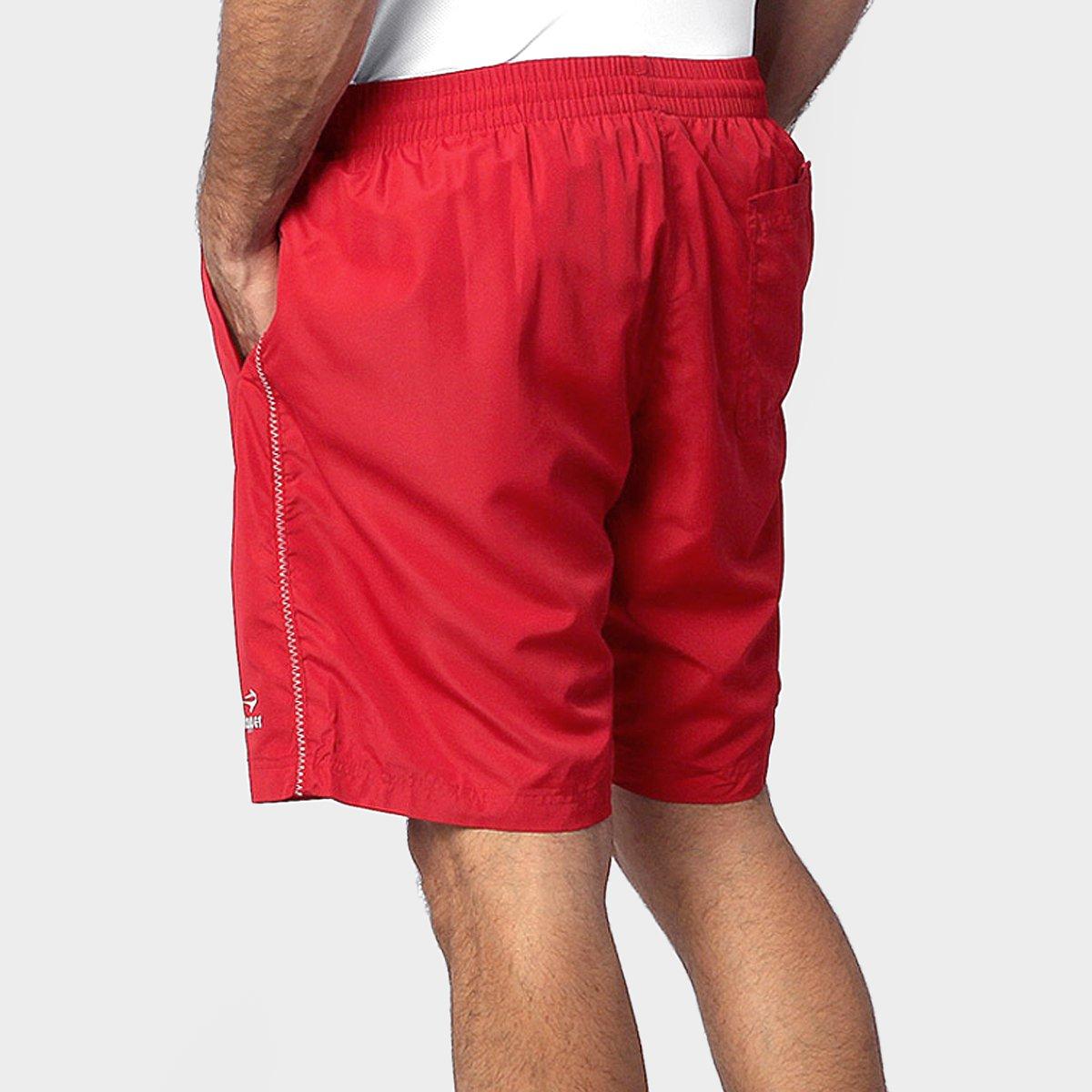 2bba1b8ed8 Short Topper Basic 3 - Vermelho e Cinza - Compre Agora