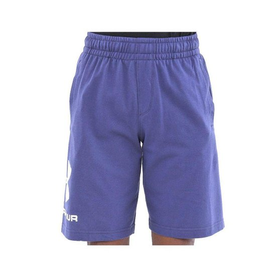 SHORT UNDER ARMOUR 1359399 SPORTSTYLE COTTON MARINHO/BRANCO P