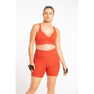 Shorts Active Essential - Vermelho - GG - LIVE!