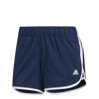 Shorts Adidas Icon Azul Feminino