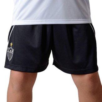 Shorts Bermuda Infantil do Atlético Mineiro