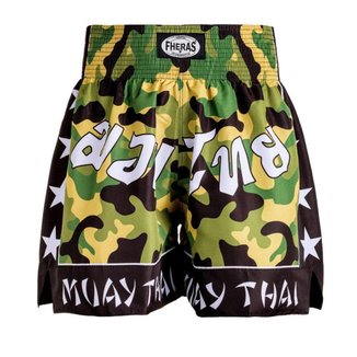 Shorts Boxe (Muay Thai) Fheras Training New Camuflado