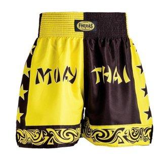 Shorts Boxe Muay Thai Bicolor Fheras