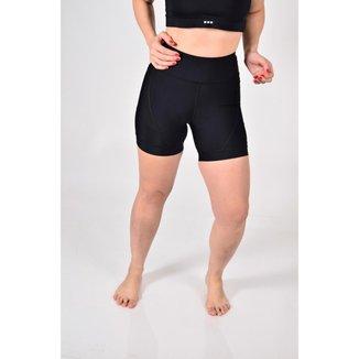 Shorts Cós Alto De Compressão Gumm Run Feminina
