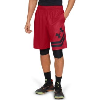 Shorts de Basquete Masculino Under Armour Baseline 10 Court