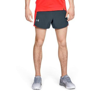 Shorts De Corrida Under Armour Qunder Armourlifier Speedpocket 5 Masculino