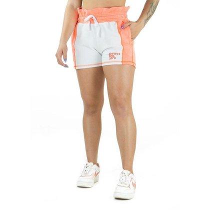 Shorts de Moletom Always - Branco-GG