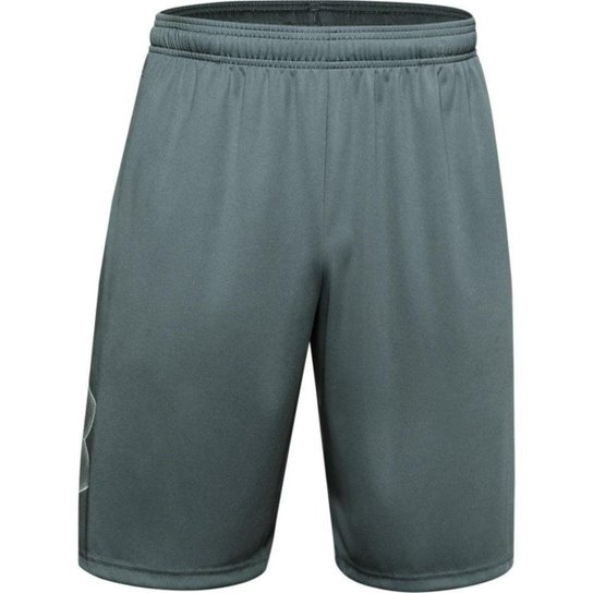 Shorts de Treino Masculino Under Armour Tech Graphic - Preto