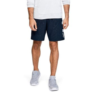 Shorts de Treino Masculino Under Armour Woven Graphic Emboss
