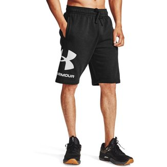 Shorts de Treino Rival FLC Big Logo Under Armour Masculino