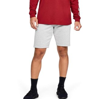 Shorts De Treino Under Armour Speckled Fleece Masculino