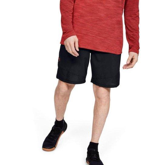 Shorts De Treino  Under Armour Vanish Woven Masculino - Preto