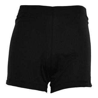 Shorts Feminino em Poliéster Luxo Liso
