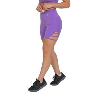 Shorts Feminino Fitness Sport Lilás