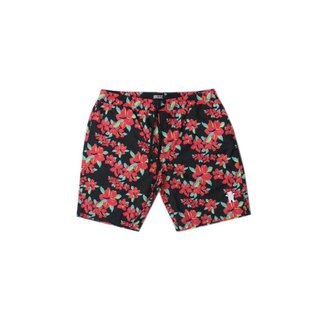 Shorts Grizzly Hibisco Floral Masculino