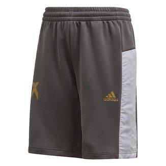 Shorts Infantil Adidas Inspirado Futebol X Aeroready