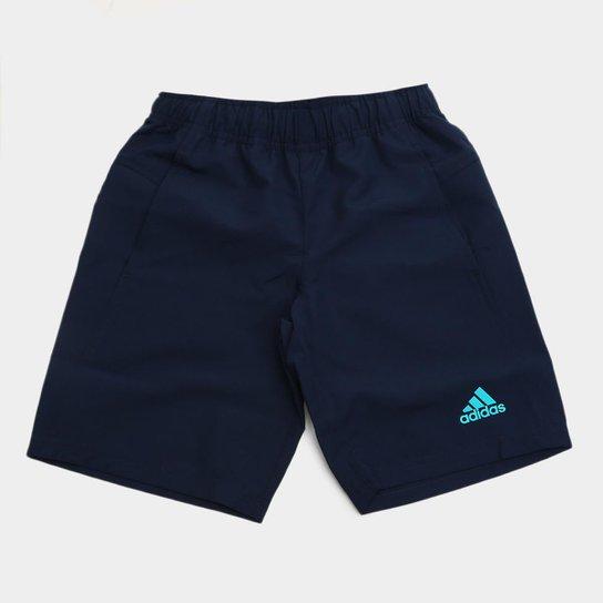 Shorts Infantil Adidas Tr Pl Wv Masculino - Marinho