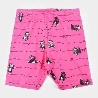 Shorts Infantil Disney Fígaro