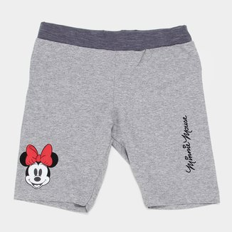 Shorts Infantil Disney Minnie Mouse Feminino