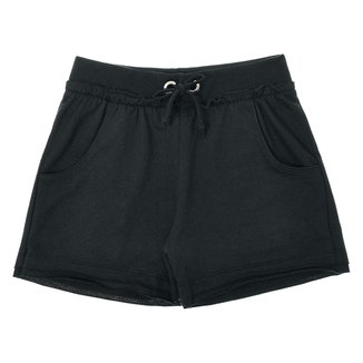 Shorts Infantil Pulla Bulla Moletinho Básico Feminino