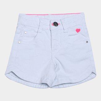 Shorts Jeans Juvenil Malwee Comfort Feminino