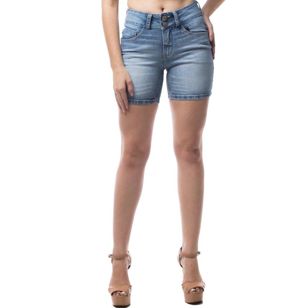 305ba547f Shorts Jeans Osmoze Mid Rise Middle Feminino - Compre Agora