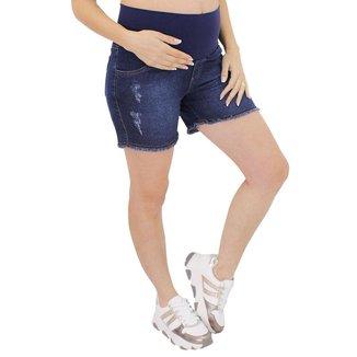 Shorts Linda Gestante Premium para Grávidas Super Stretch