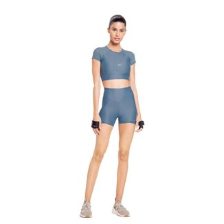 Shorts Live Fit L! Holographic Feminino