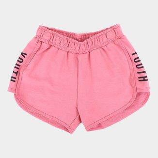 Shorts Moletom Juvenil Kyly Youth Feminino