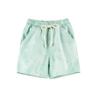 Shorts Moletom Tie Dye Infantil Menino Com Amarração - C4FE1BEN4 Masculino