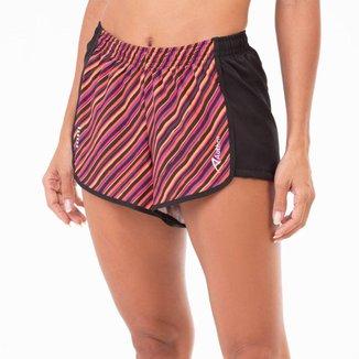 Shorts Run Authen Sprint Pusher Feminino