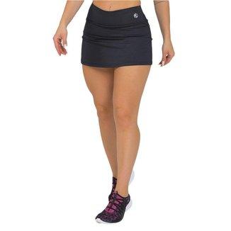 Shorts Saia Feminino Fitness Preto