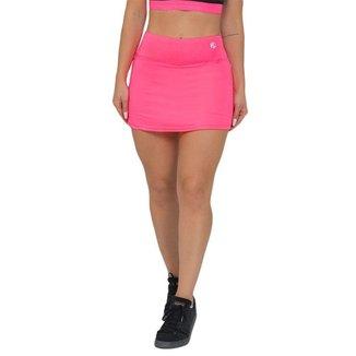 Shorts Saia Feminino Fitness Rosa