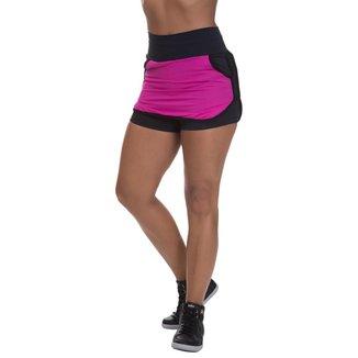 Shorts Saia Mis Blessed Premium com Dry Fit Rosa