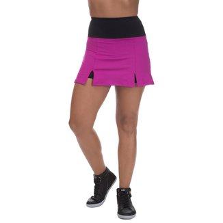Shorts Saia Miss Blessed Tênis Rosa