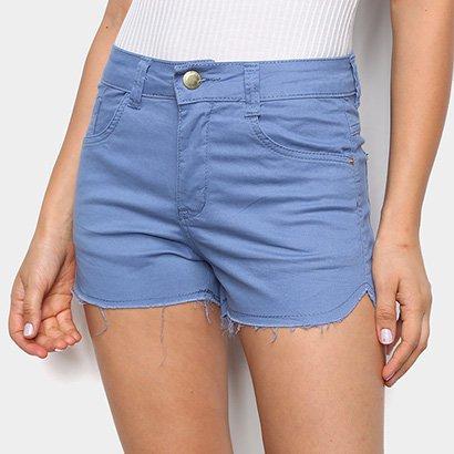 Shorts Sarja Ecxo Basico Feminino