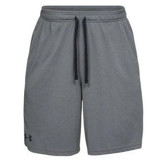 Shorts Under Armour Mesh Sport Cinza Masculino
