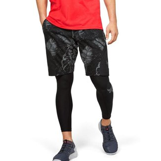 Shorts  Under Armour Project Rock Terry Printed Masculino