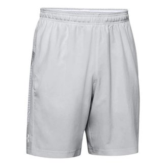 Shorts Under Armour Woven Graphic Cinza Claro Masculino