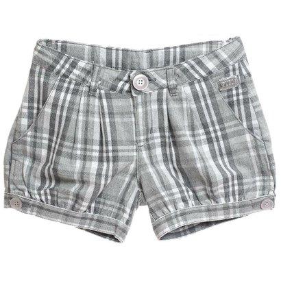 Shorts Xadrez-Feminino