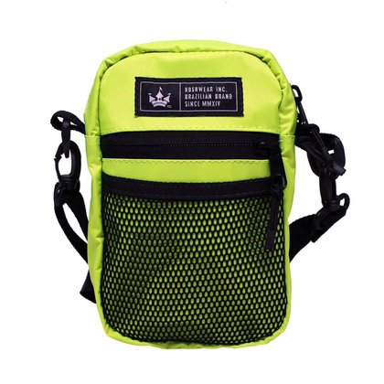 Shoulder Bag Média Hoshwear Neon Amarelo