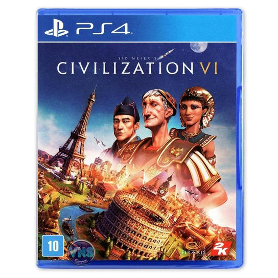 Sid Meiers Civilization VI - PS4 - Incolor
