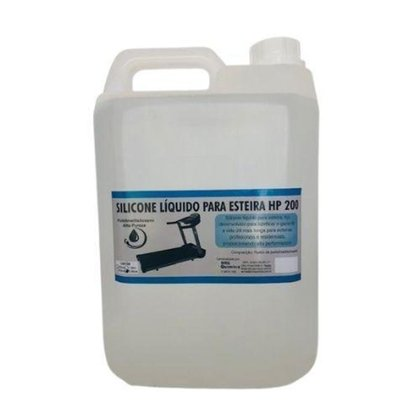 Silicone Lubrificante Liquido para Esteira 5L
