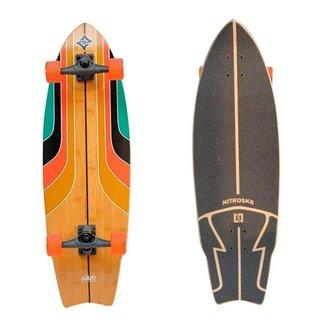 Simulador Surf Longboard NitroSK8 Rainbow Surf 34x10'