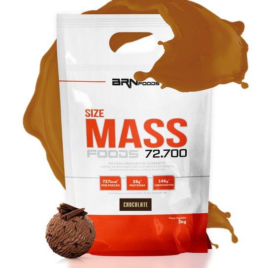 Size Mass Foods 72.700     3 kg - BRN Foods -